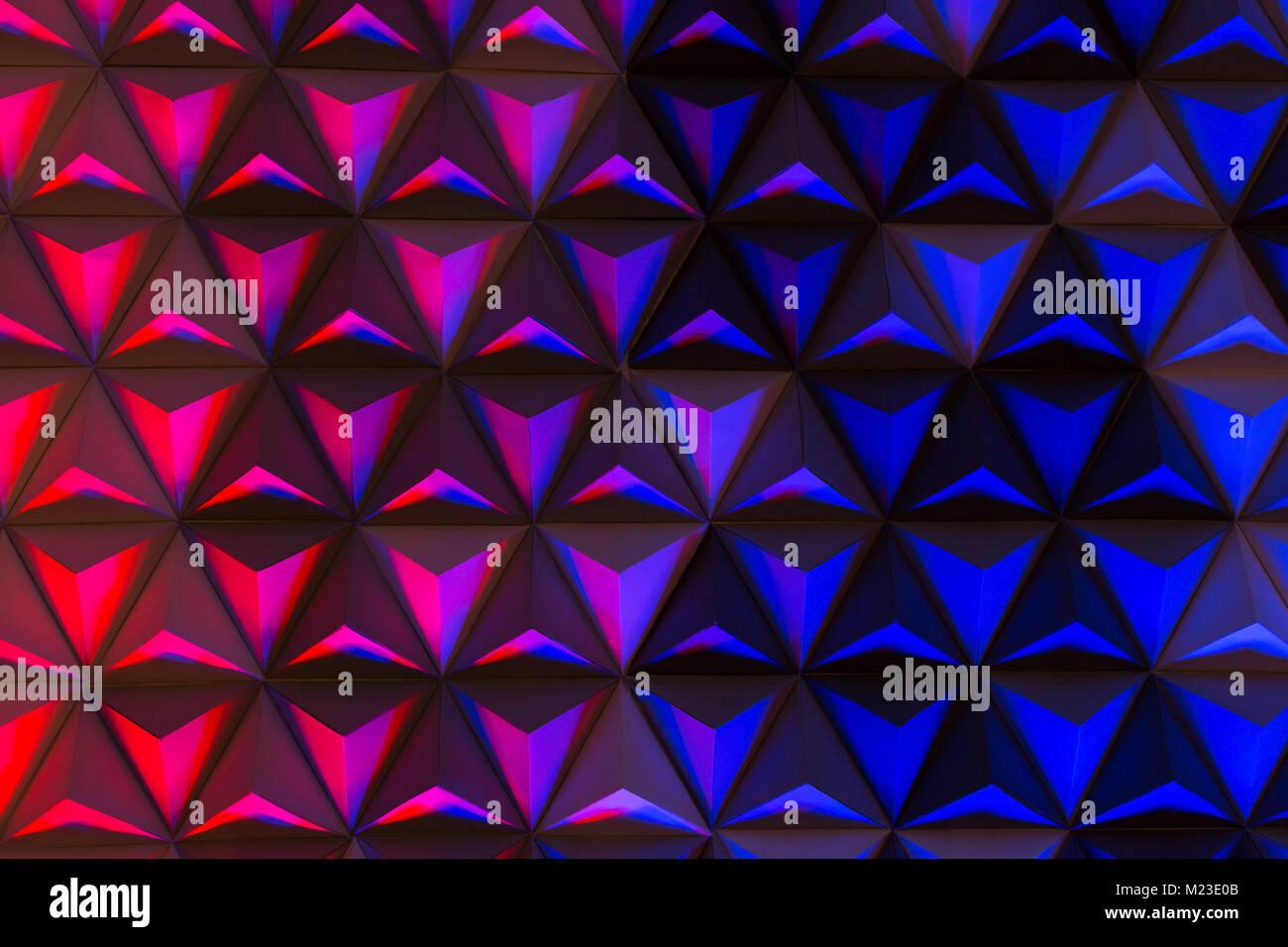 Pallet di colore illuminazione decor concetto. sfondo multicolore