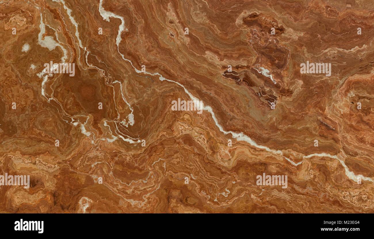 Bellissimo marmo marrone piastrelle con venature bianche foto
