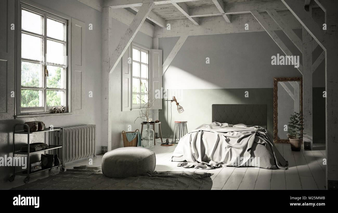 Camera Da Letto Legno Chiaro : In legno chiaro in stile scandinavo interiore camera da letto in