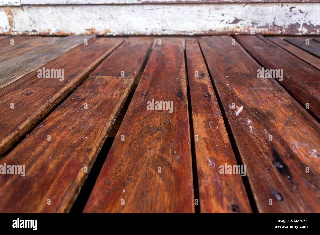 Pannello In Legno Piano Vuoto Texture Di Sfondo In Prospettiva Foto Stock Alamy