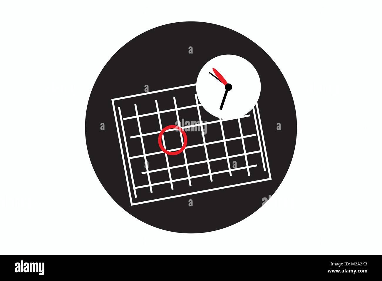 Simbolo Calendario.Icona Data Icona Del Calendario Appuntamenti Icona