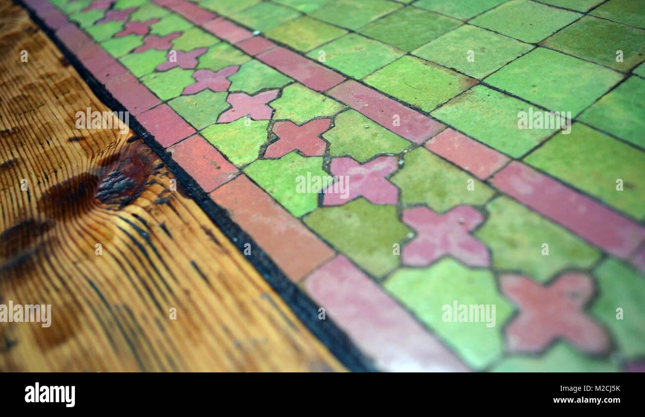 Marocchina di piastrelle a mosaico foto immagine stock
