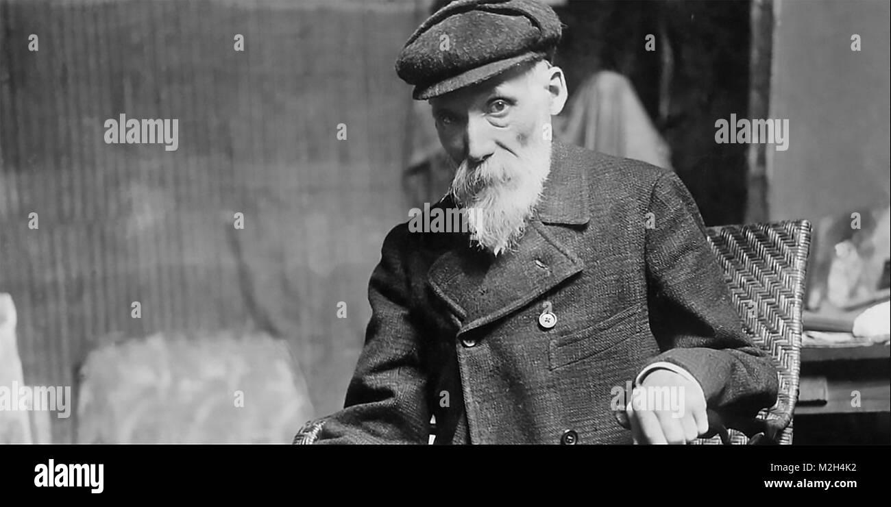 PIERRE-AGUSTE RENOIR (1841-1919) francese pittore impressionista Immagini Stock