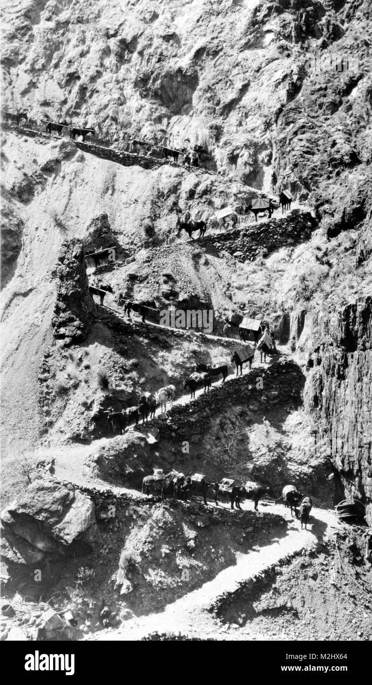 Pack treno, xx secolo Immagini Stock