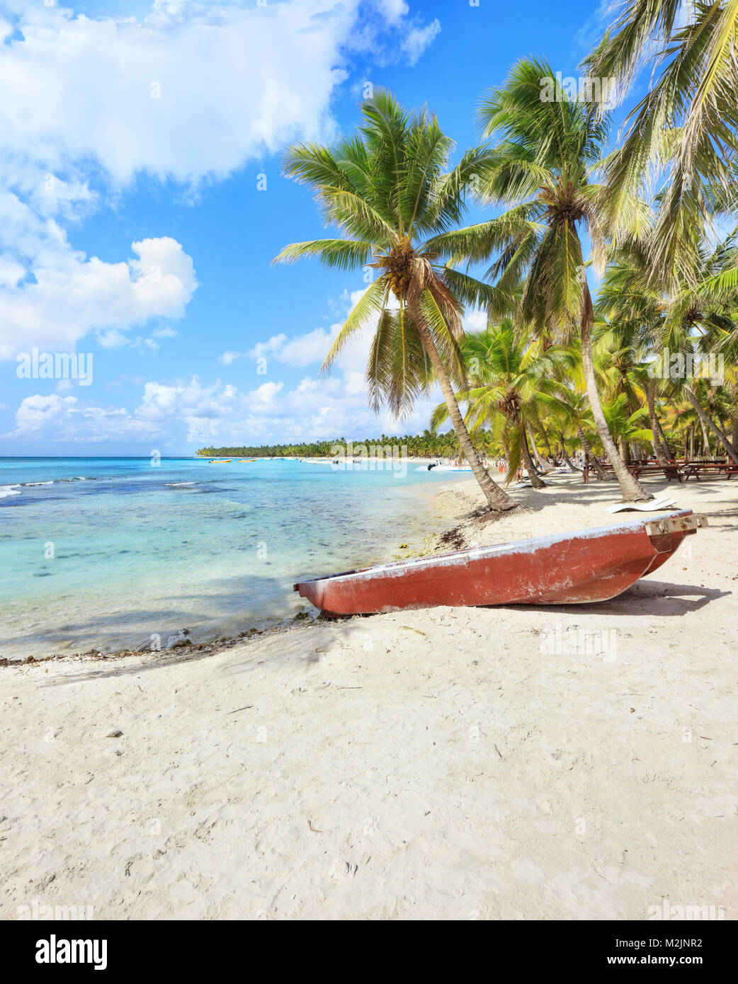 Vacanza in Repubblica Dominicana Immagini Stock