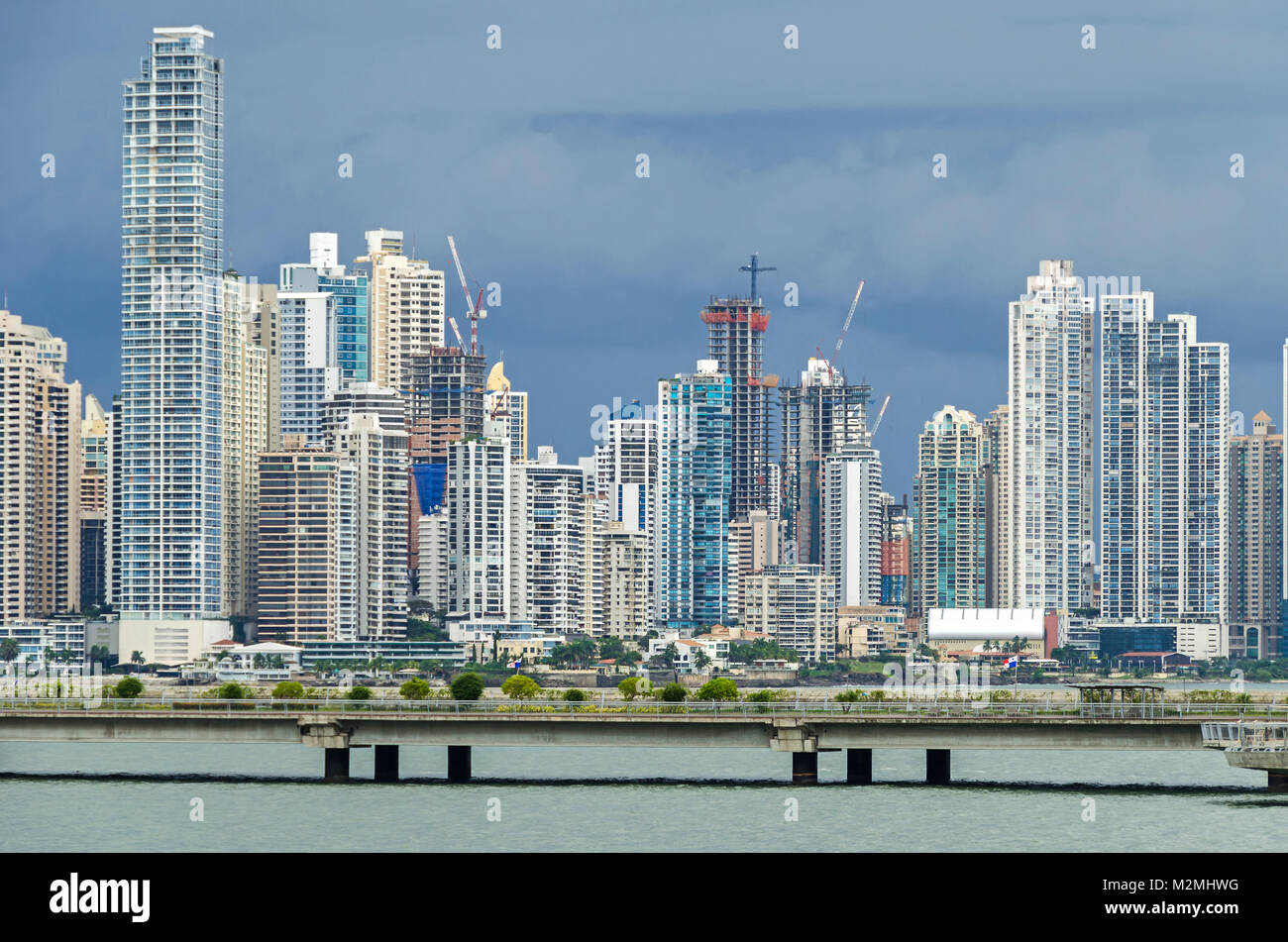 abed2e0ebf Panama City, Panama - 3 Novembre 2017: boom di costruzione nella città di  Panama