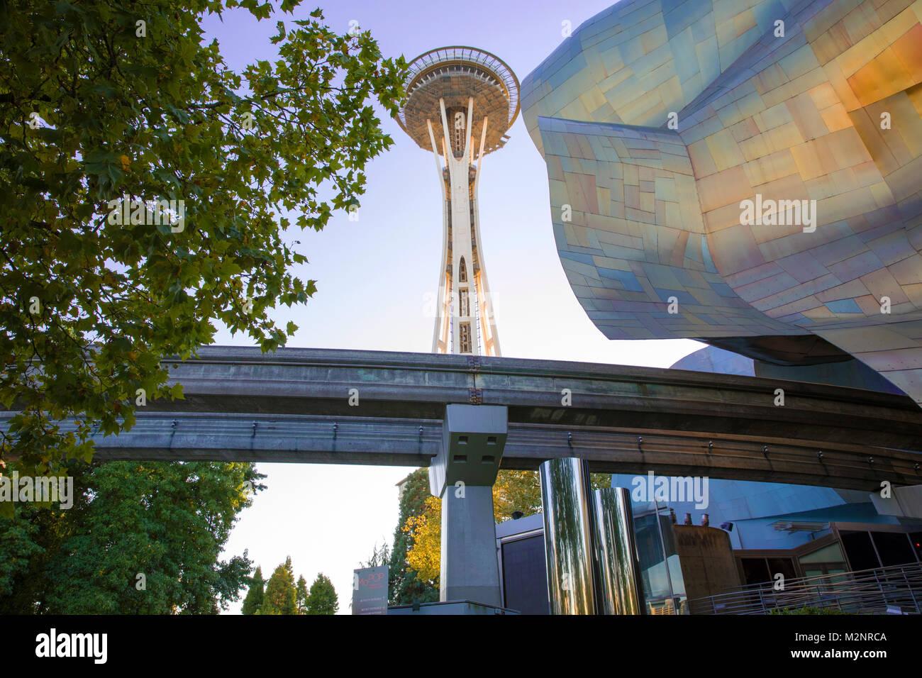 Seattle, nello Stato di Washington Immagini Stock