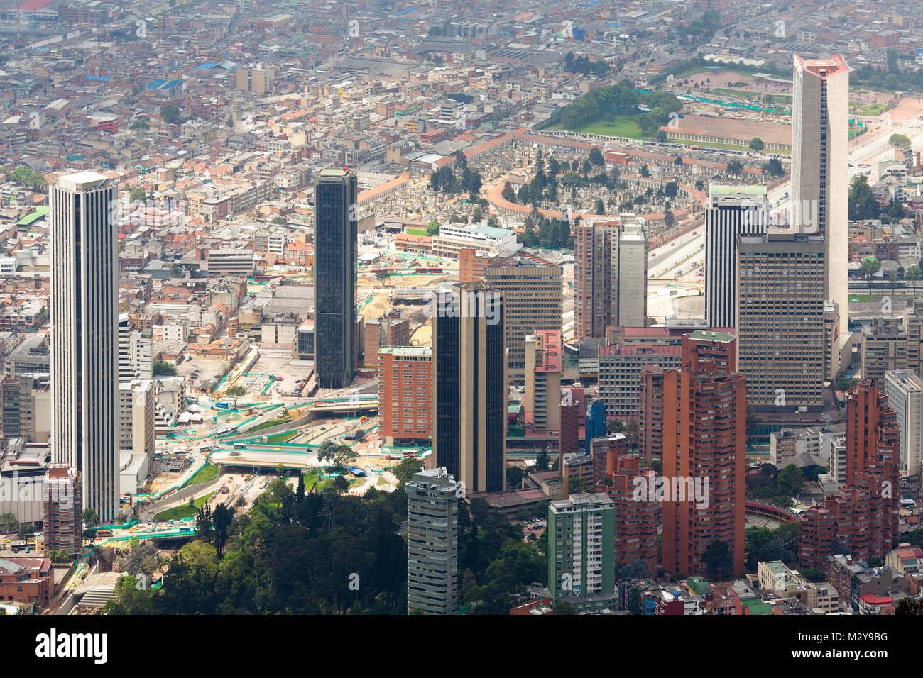 Centro internazionale di Bogotà, Colombia, Sud America Immagini Stock
