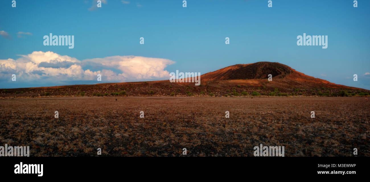 Cratere El Elegante Messico prese nel 2015 Immagini Stock