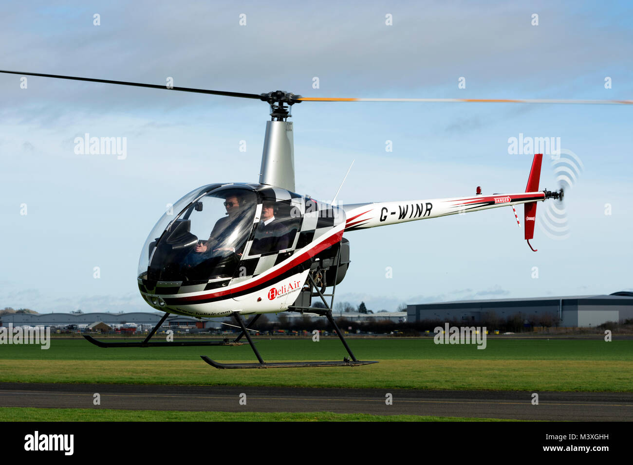 Elicottero R22 : Robinson r beta ii elicottero a wellesbourne airfield