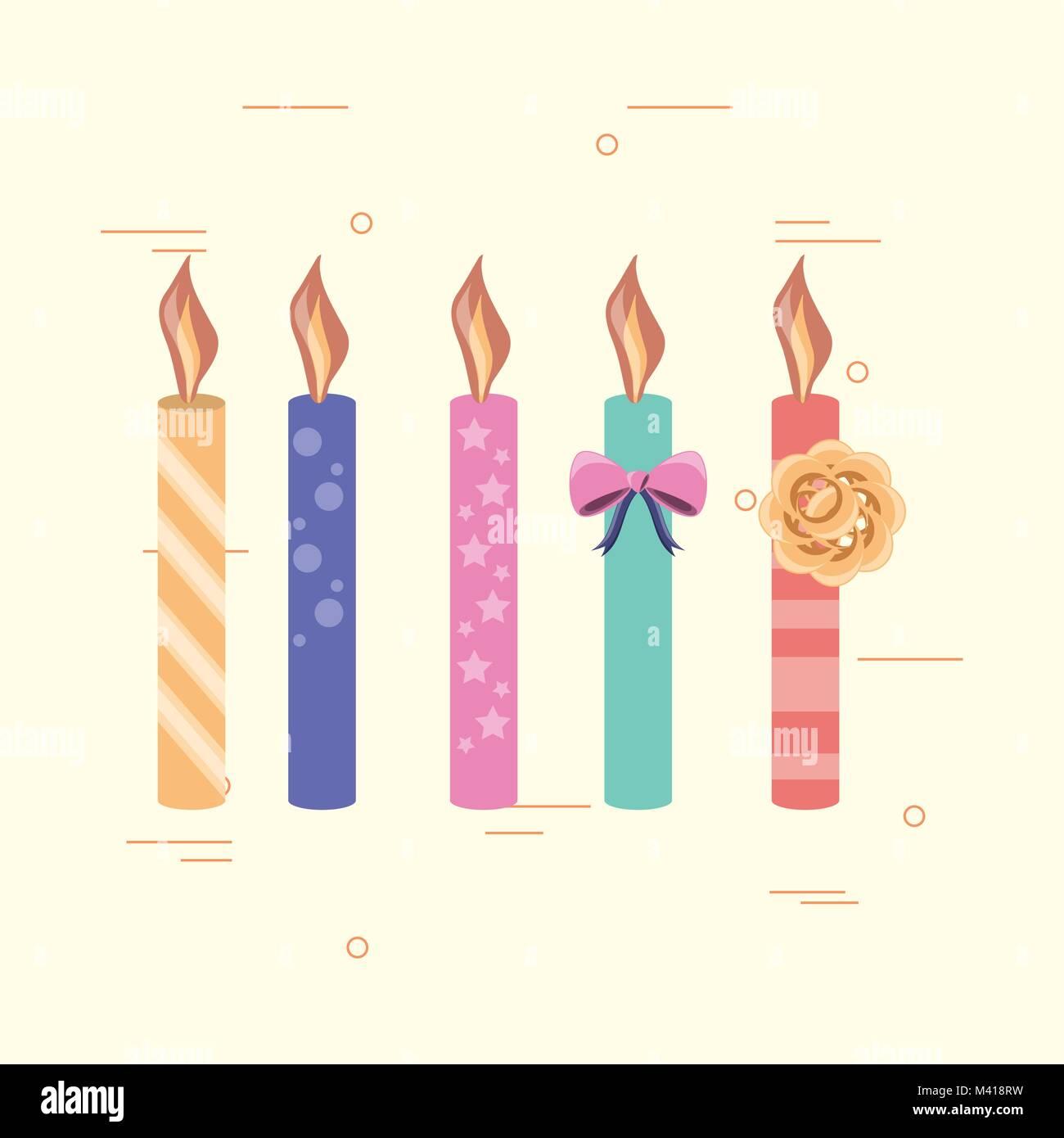 Buon compleanno design Illustrazione Vettoriale