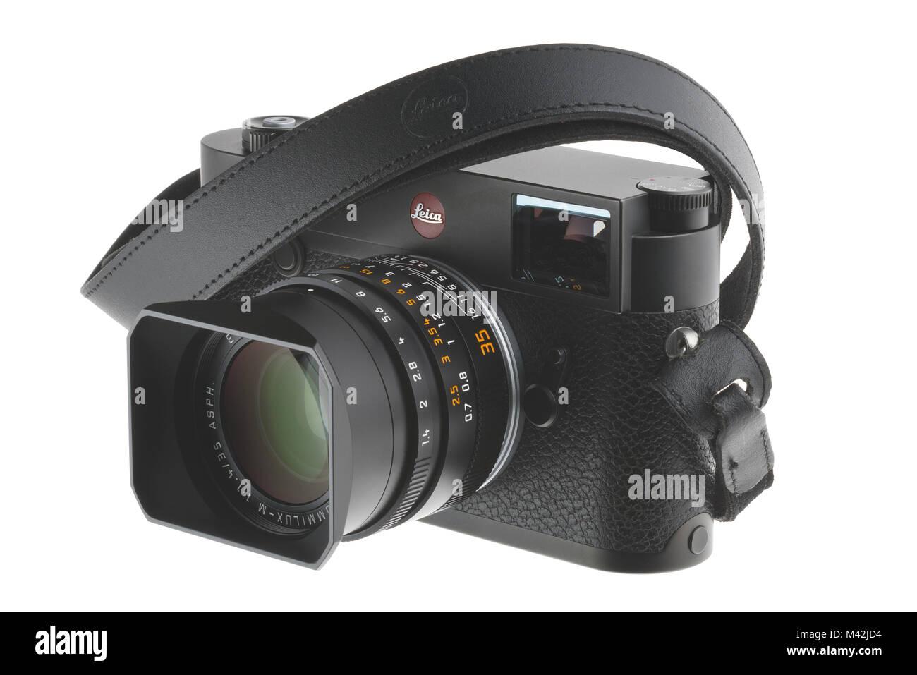 Leica M10 fotocamera Immagini Stock