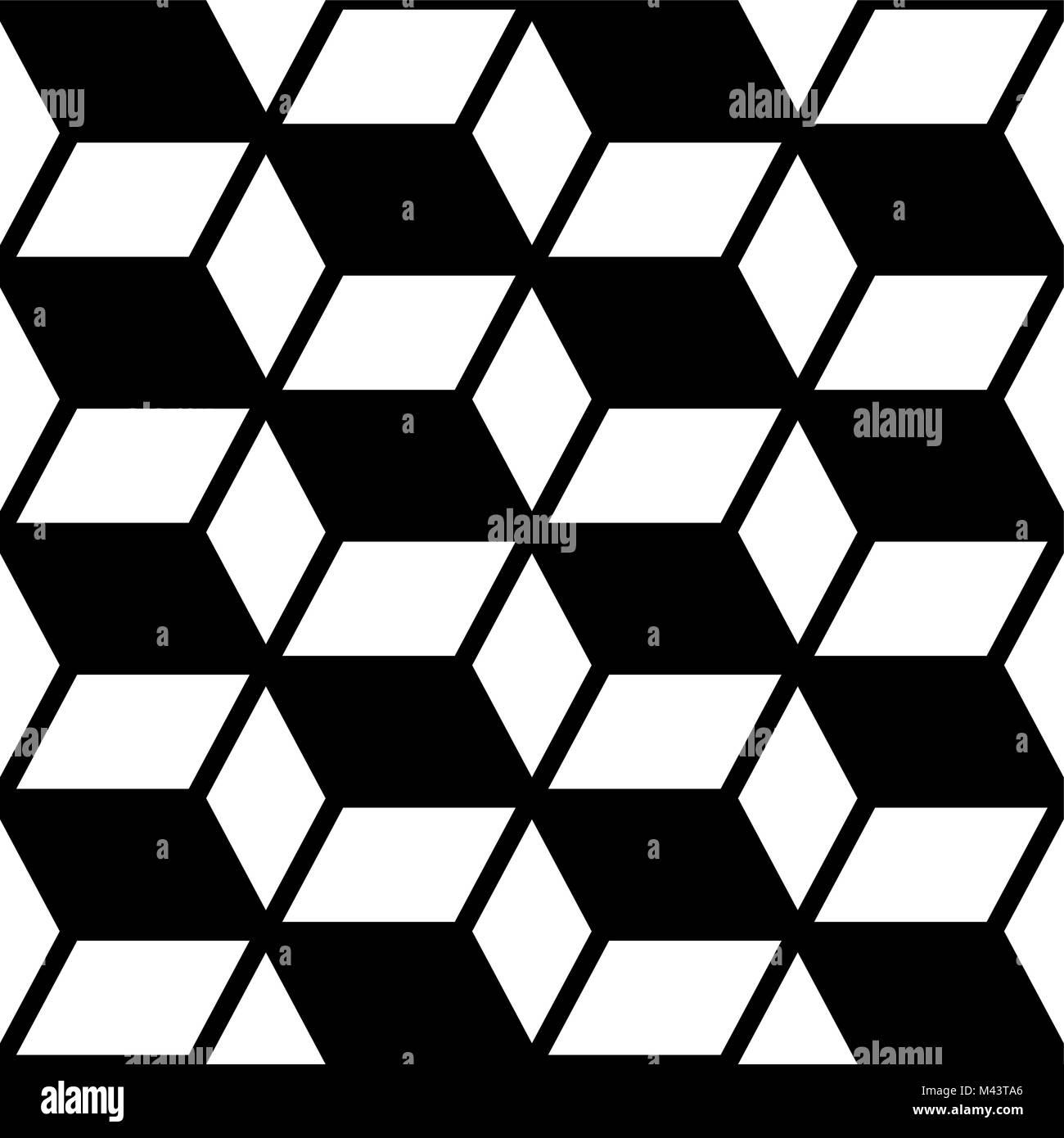 Disegni Geometrici Bianco E Nero geometrica astratta seamless disegno vettoriale, moderno