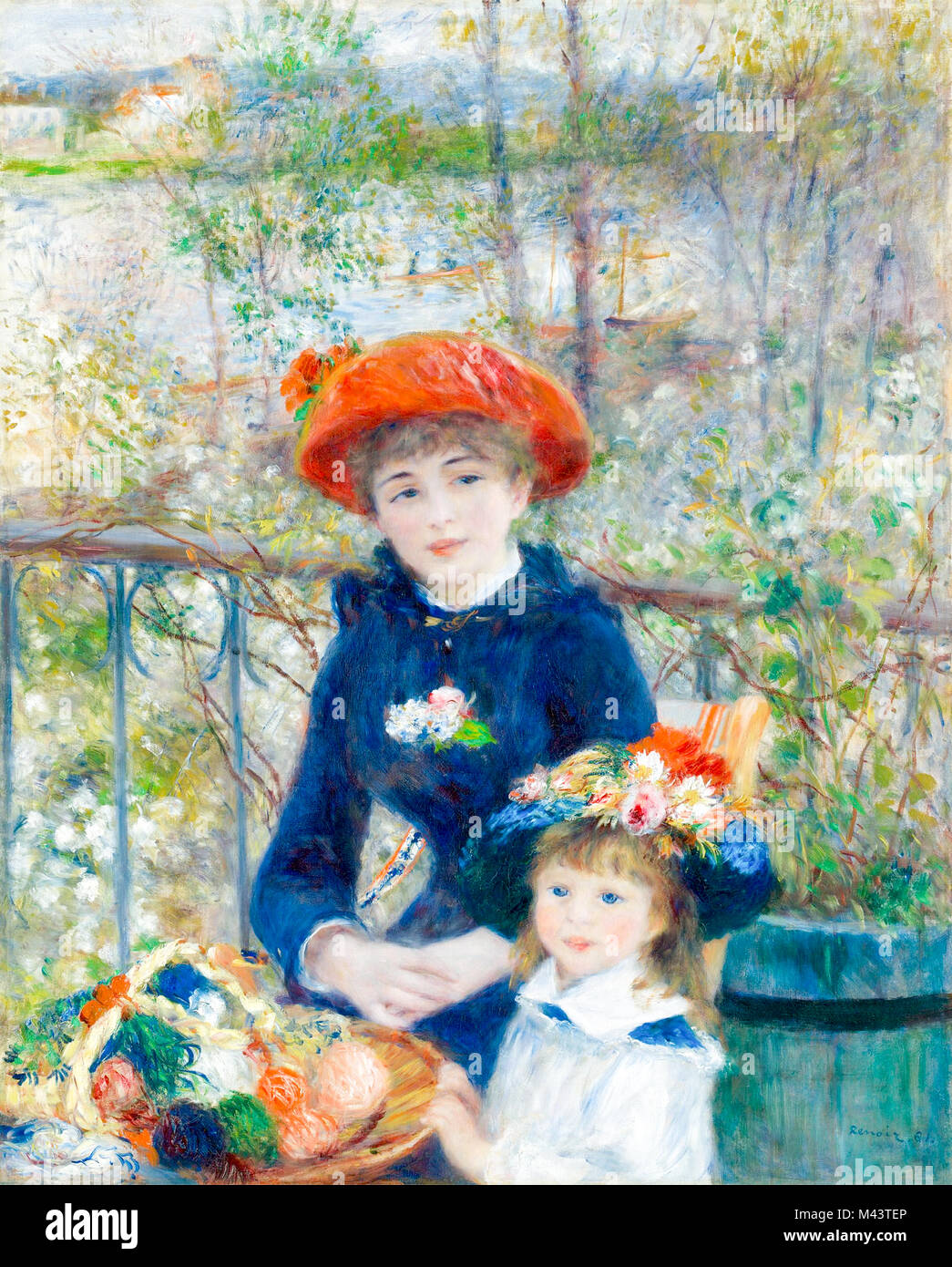 The Two Sisters By Renoir Immagini & The Two Sisters By Renoir Fotos ...