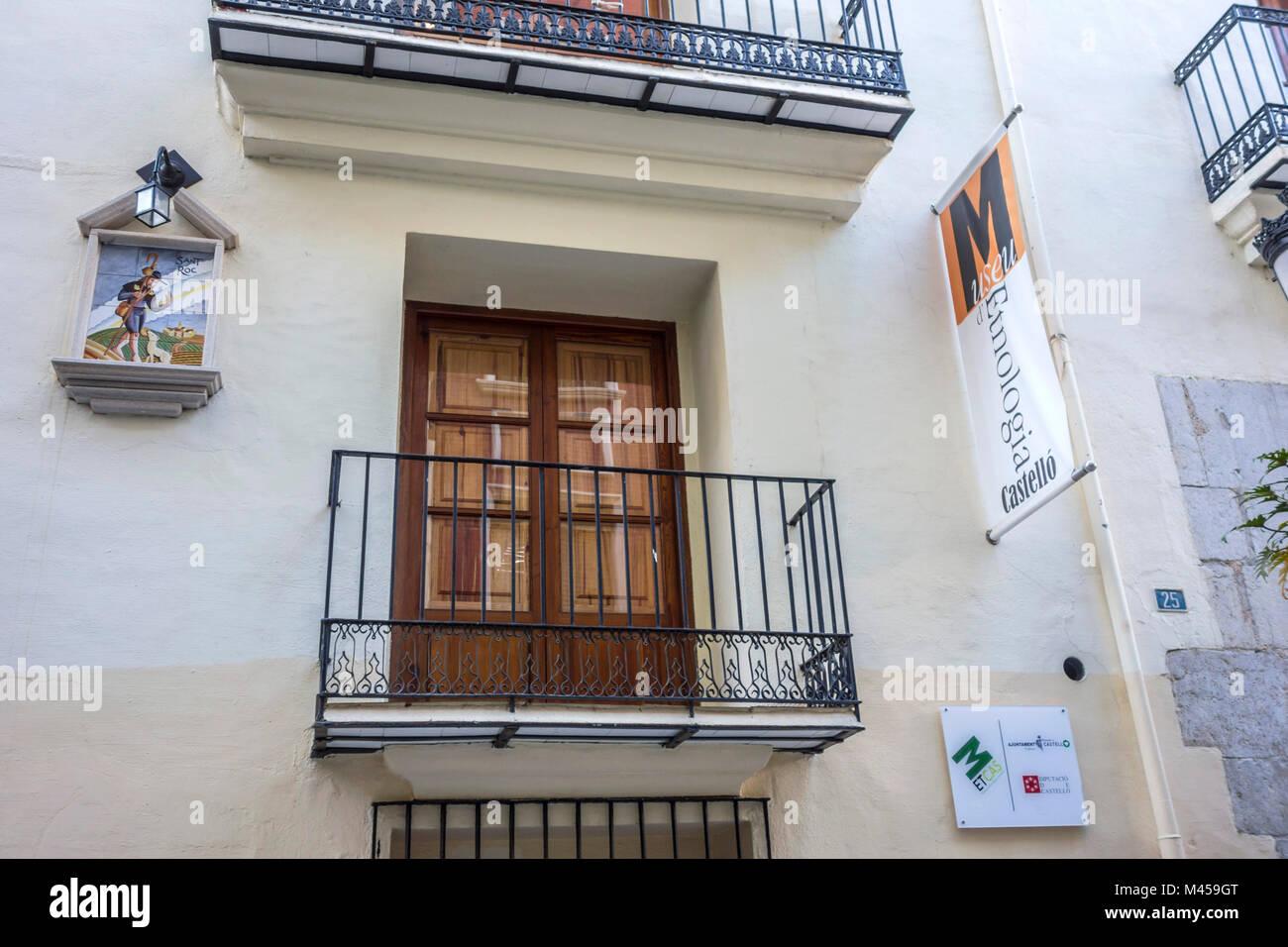 Museo di etnologia,Castellon,Spagna. Immagini Stock