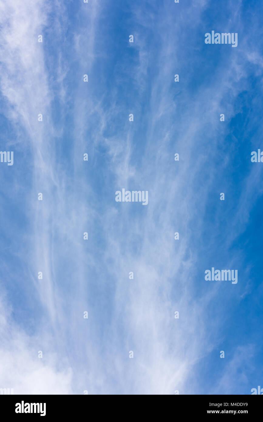 Le nuvole e il cielo Immagini Stock