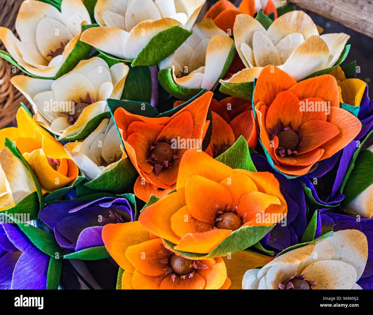 Papaveri Di Carta Crespa fiori di carta crespa immagini e fotos stock - alamy