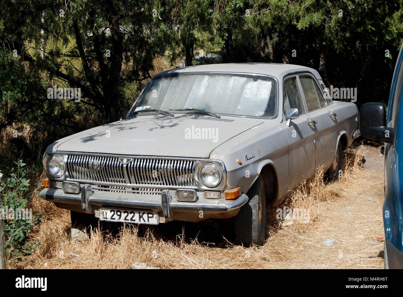 Antica russa Volga auto in Sudak, Ucraina Foto & Immagine