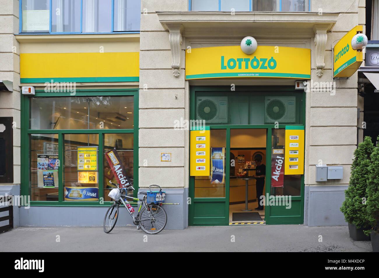 Ungheria Lotto Immagini Stock