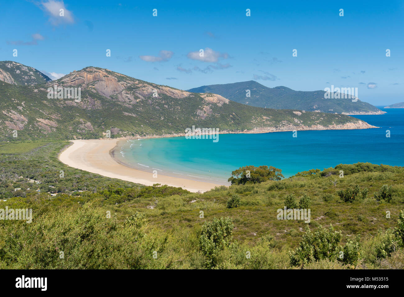 Norman Bay al promontorio di Wilson in Victoria, Australia Immagini Stock