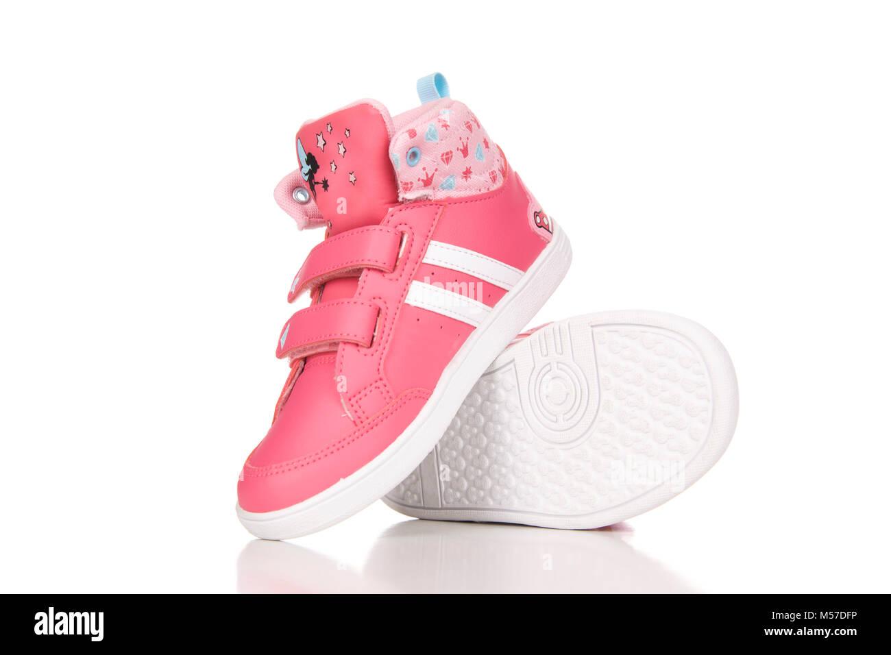 calzature Su Di Sfondo Per Sportive Rosa Coppia Scarpe Bianco AxOqHwB