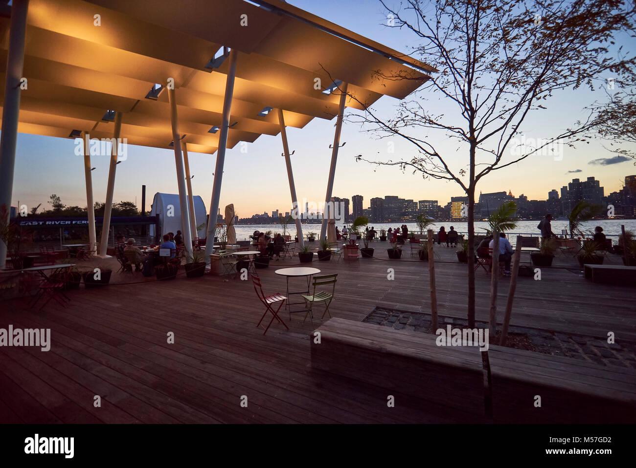 Cacciatori punto a sud Waterfront Park Immagini Stock