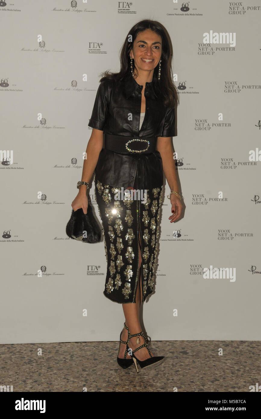 Milano 21 02 2018 milano donna la settimana della moda for Settimana della moda milano 2018