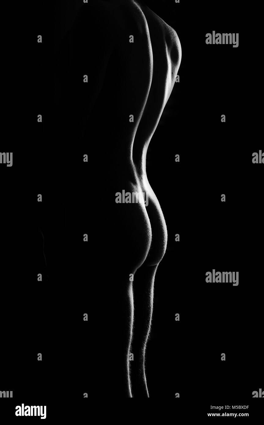 Le curve del corpo Immagini Stock