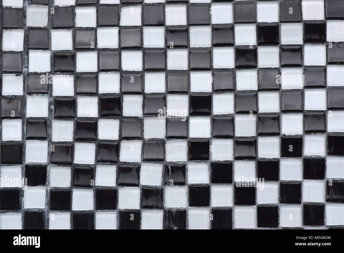 Piastrelle bianco e nero. free piastrelle geometriche in bianco e