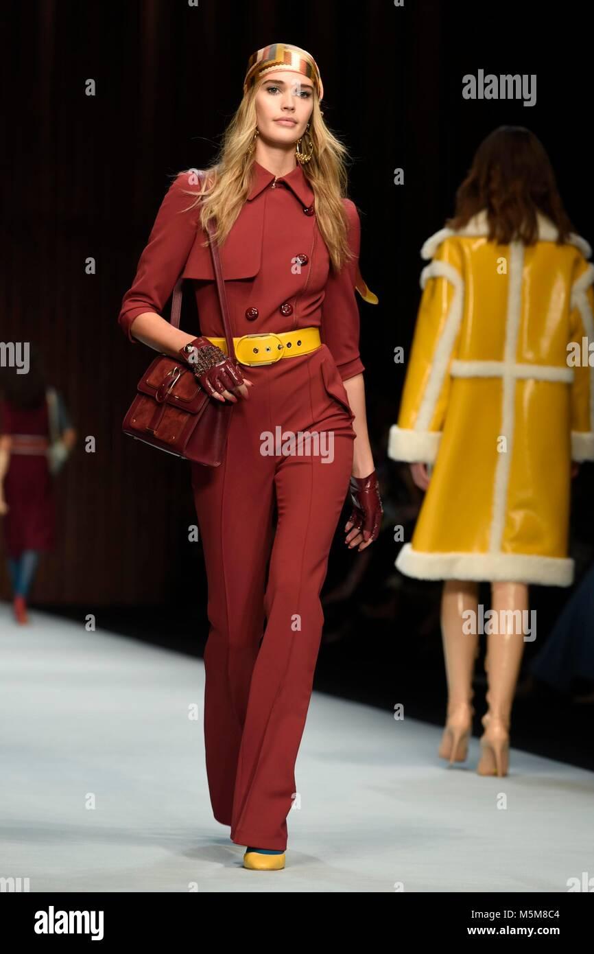 Milano 24 feb 2018 la donna della settimana della moda for Settimana della moda milano 2018