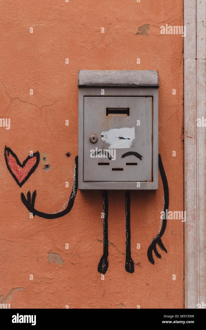 Artistico in Italia Immagini Stock