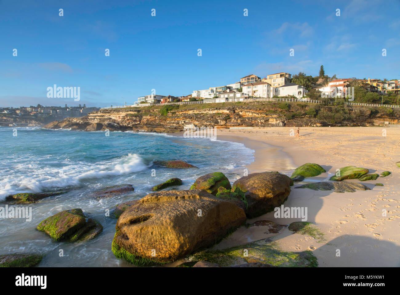 Tamarama Beach, Sydney, Nuovo Galles del Sud, Australia Immagini Stock