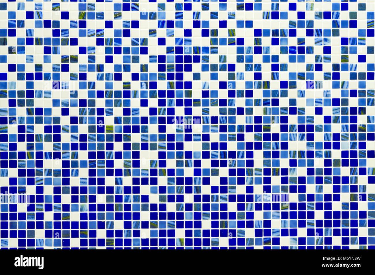 Piastrella a scacchi la configurazione di sfondo mosaico