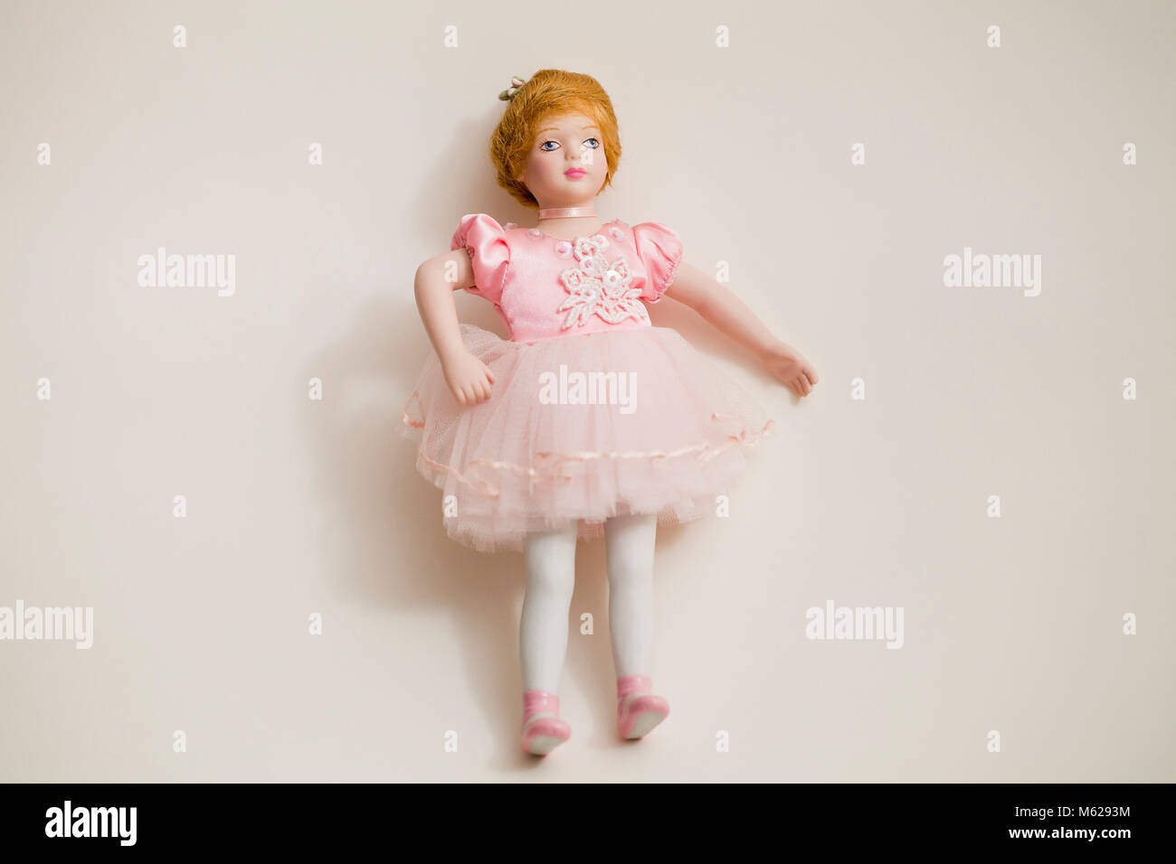Bisque doll (Bambola porcellana) Immagini Stock
