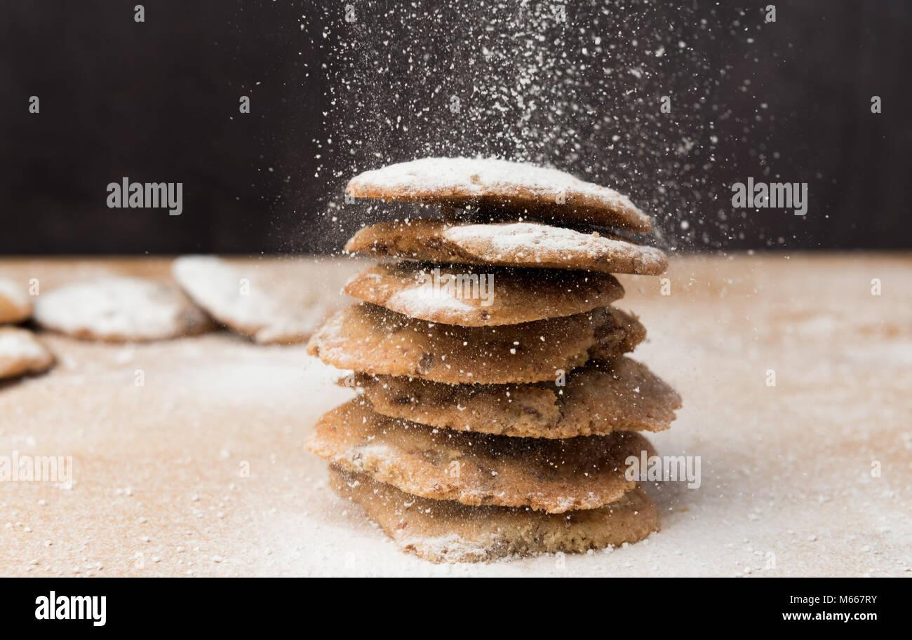Biscotti fatti in casa Immagini Stock
