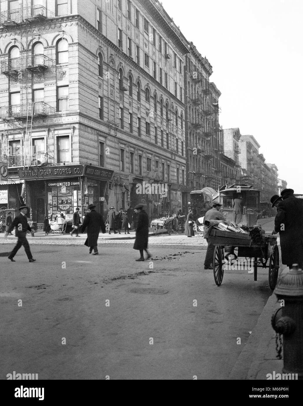 1910s 1915 BLOCCO DI PRIMO AVE e 3rd Street ha una popolazione di 5021 nel  censimento 4dc54e513551