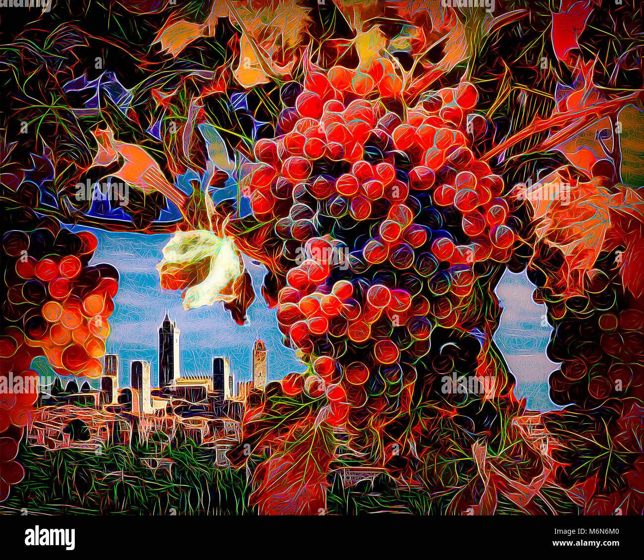 Arte: San Gimignano, Toscana, Italia Immagini Stock