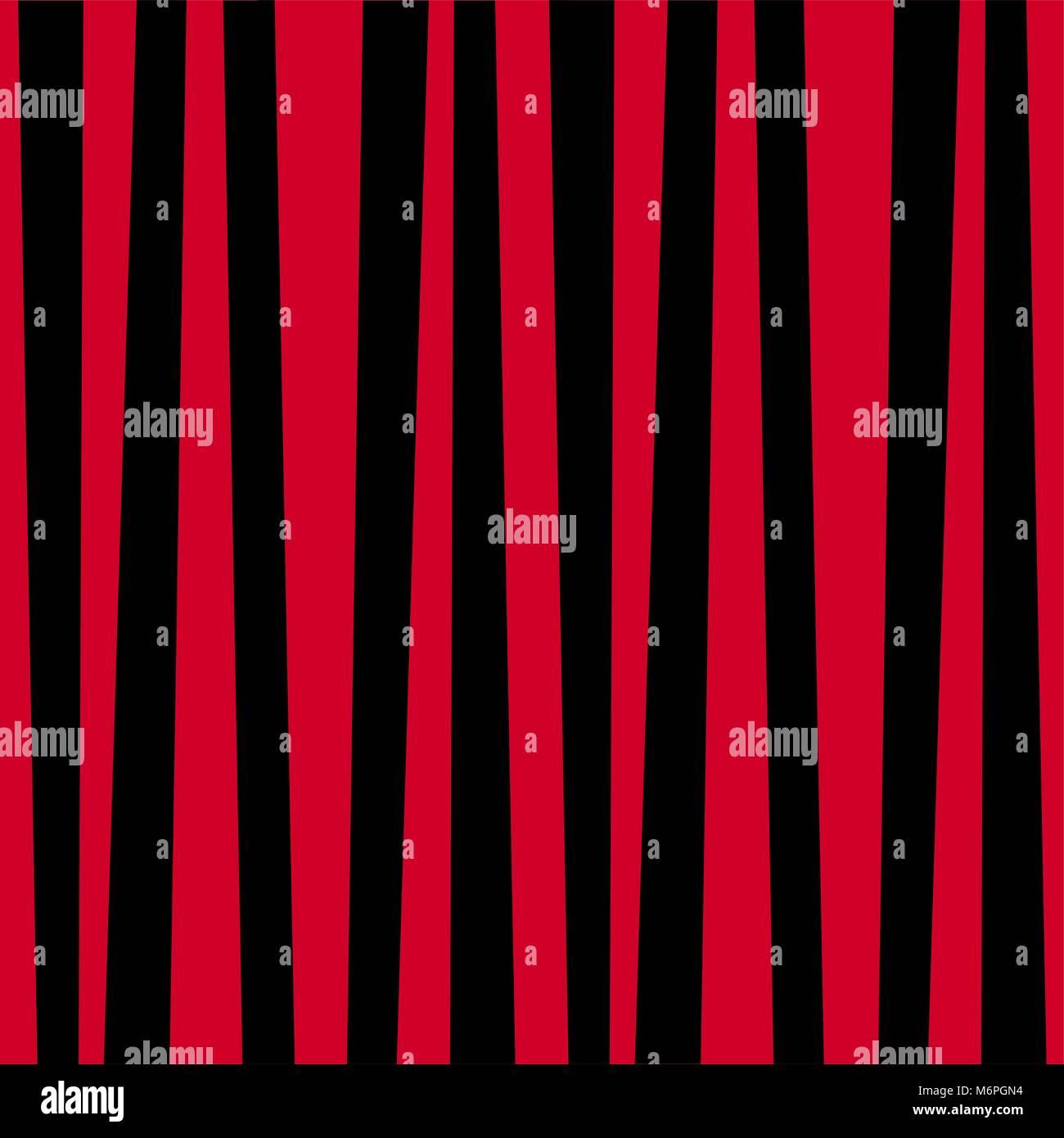 Rosso E Nero A Strisce Verticali Sullo Sfondo Modello Di Stile