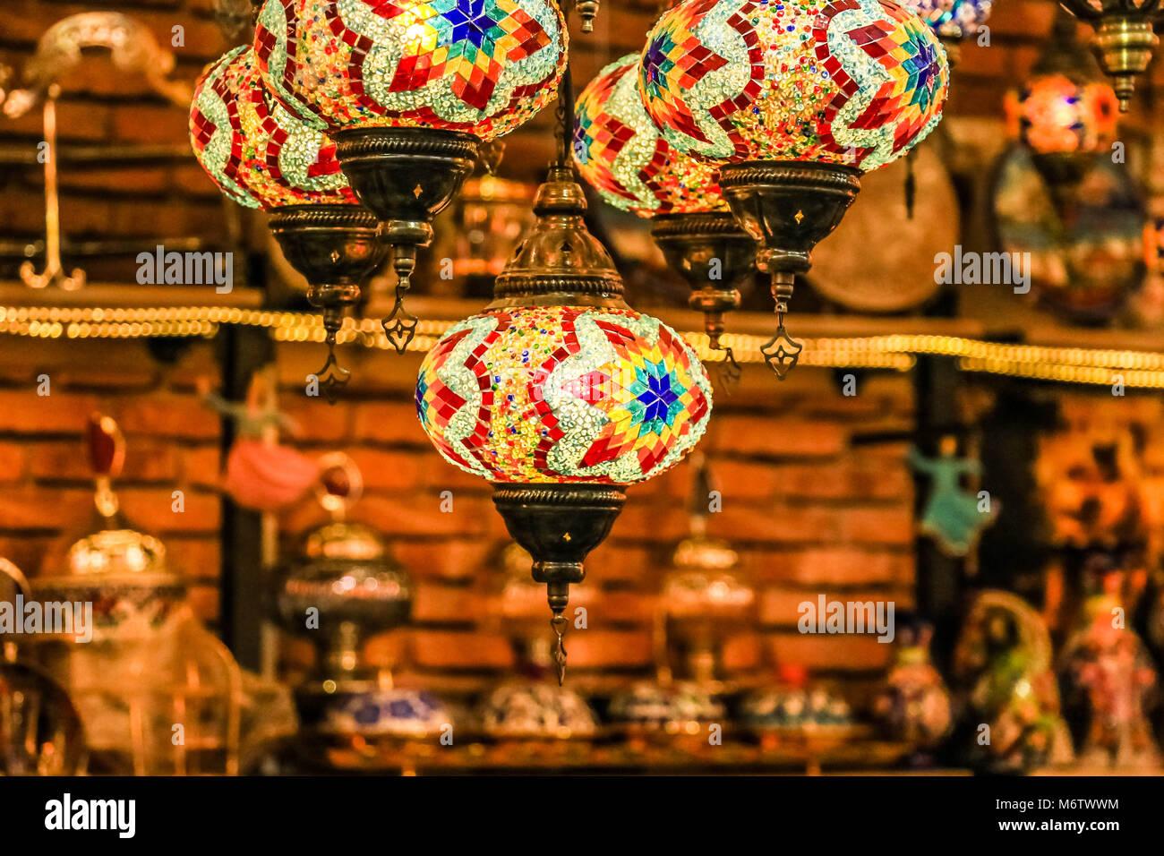 Luminose tradizionali appeso decorativi bagno turco lampade e luci