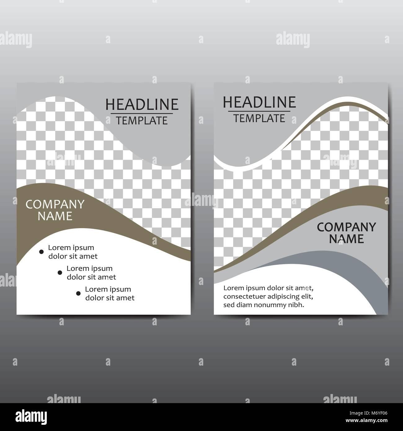 brochure del vettore flyer design modello di impaginazione in