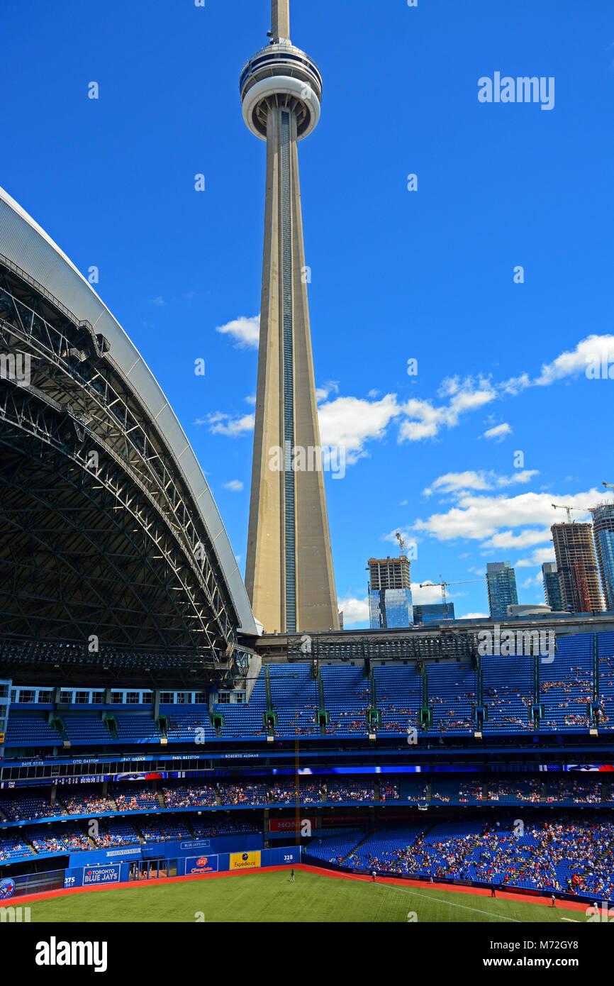 Il Rogers Centre Toronto Downtown, Canada Immagini Stock