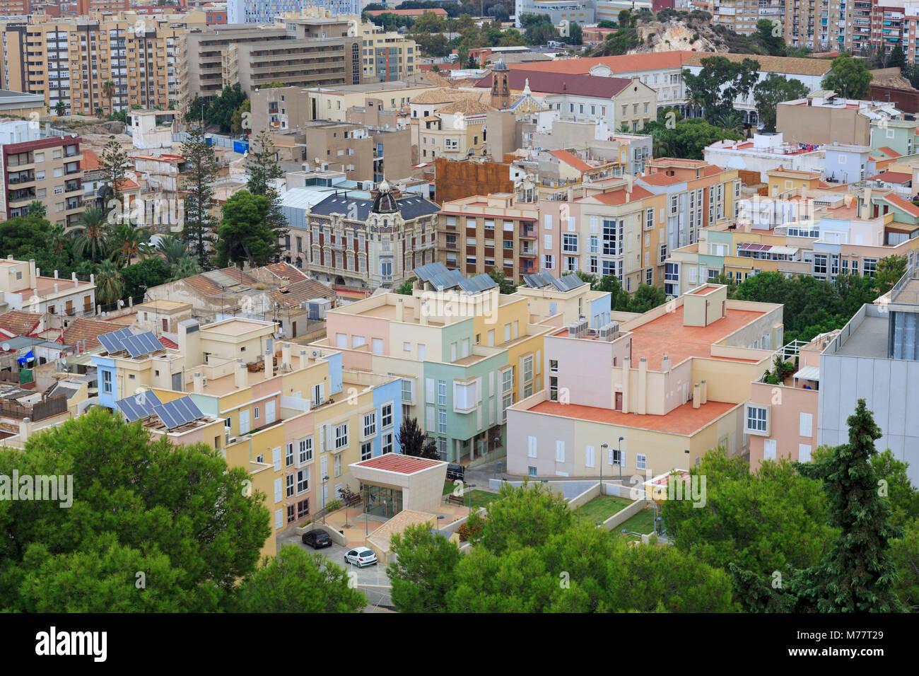 Cartagena, Murcia, Spagna, Europa Immagini Stock