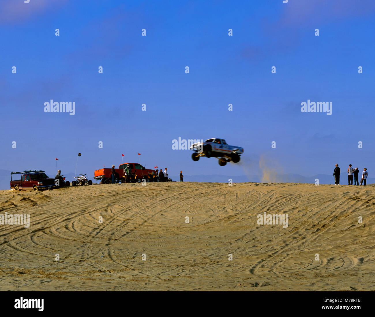 Jumping Carrello, Stato Pismo Beach, San Luis Obispo County, California Immagini Stock