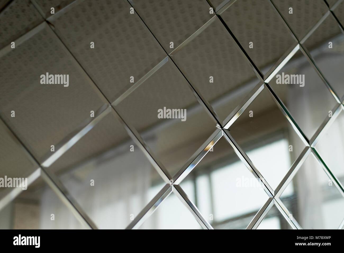 Grande specchio piastrelle utilizzato per decorazioni a parete in