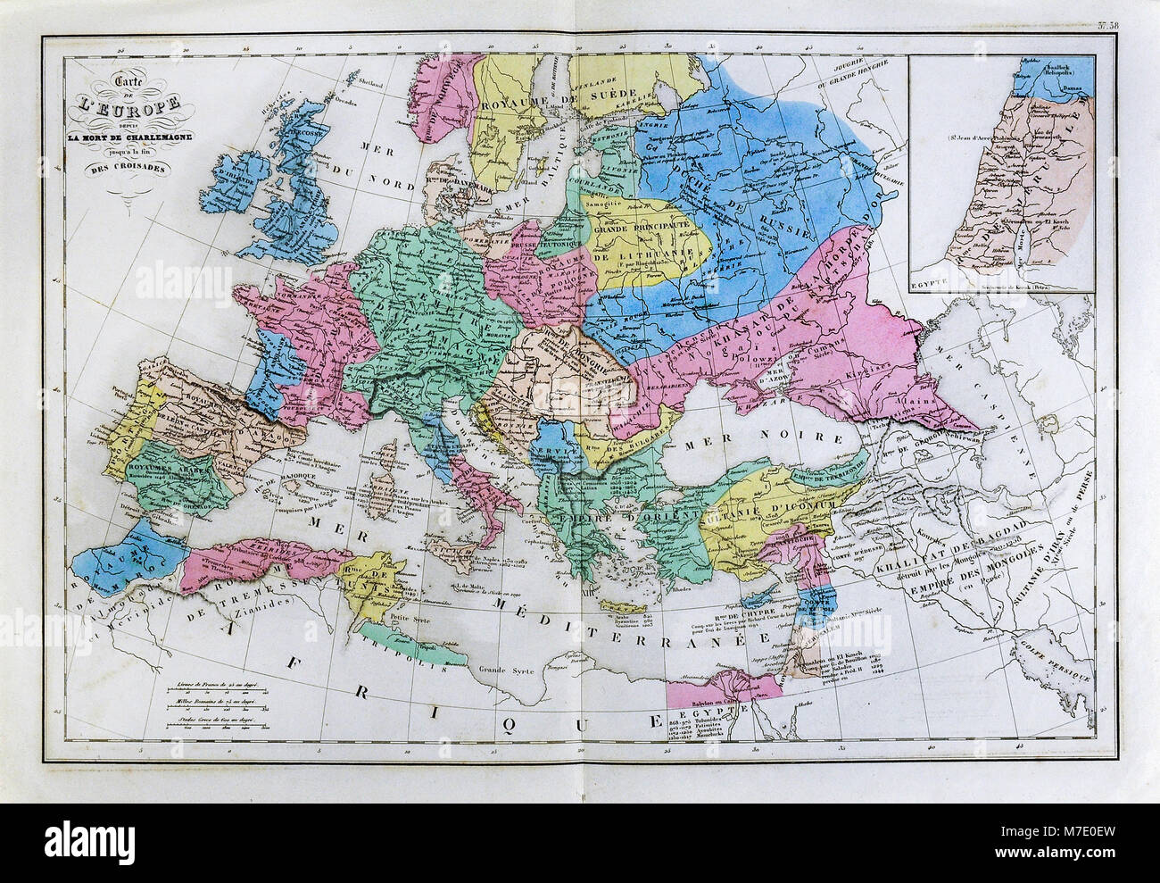 Cartina Storica Dell Europa.Historical Map Europe Immagini Historical Map Europe Fotos
