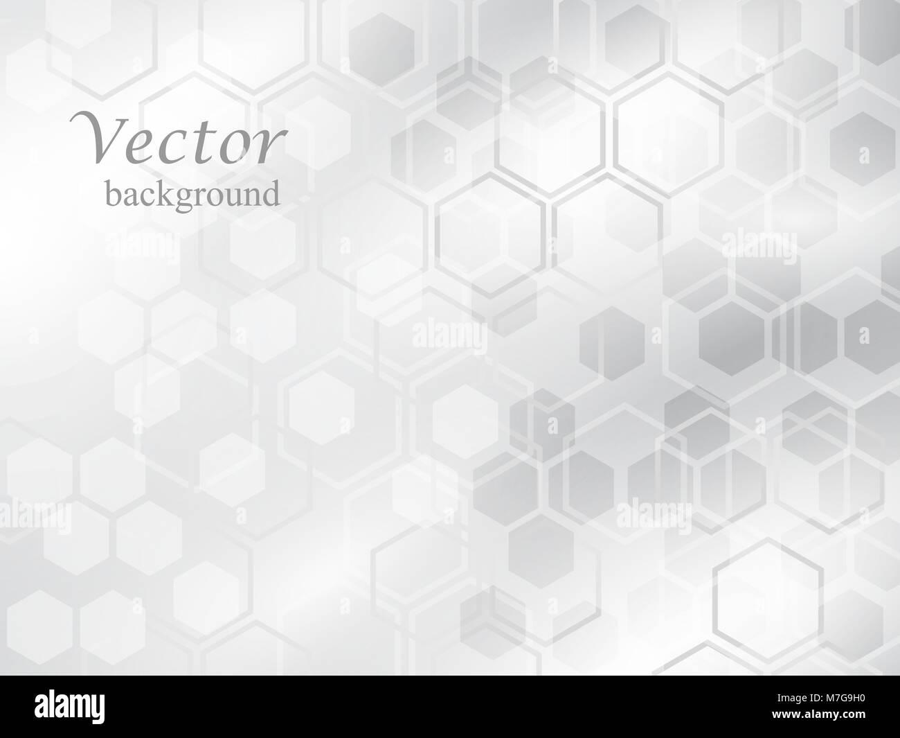 Abstract background esagonale. design pattern. illustrazione