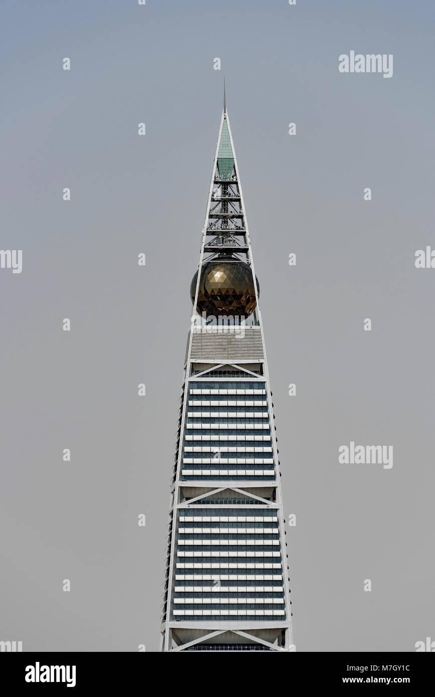 Riyadh edifici e dello skyline di parziale. Immagini Stock