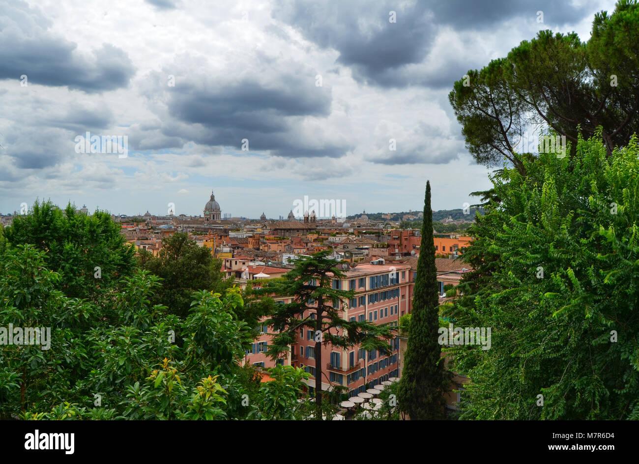Terrazza Del Pincio Immagini & Terrazza Del Pincio Fotos Stock - Alamy