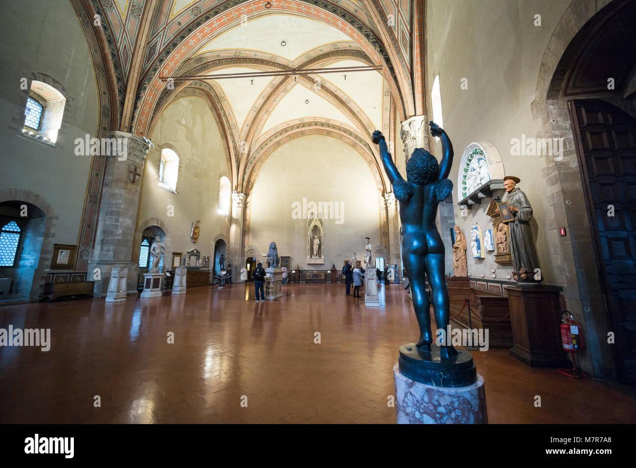 Museo Del Bargello.Firenze L Italia Museo Nazionale Del Bargello La Grande Camera