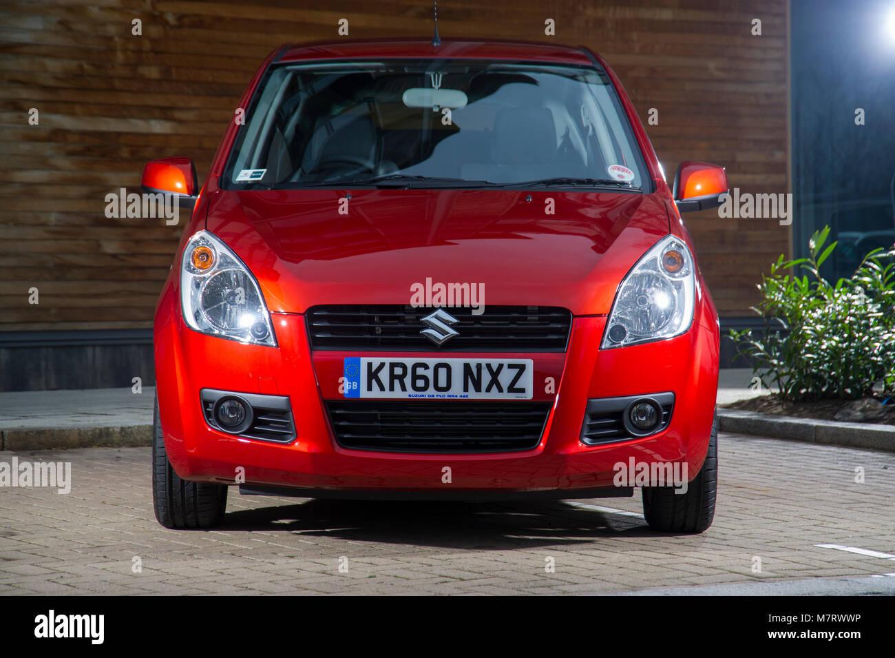 2011 Suzuki Splash city car Immagini Stock